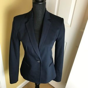 Zara Basic Navy Blazer. Size M. Pre-owned